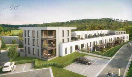 Trier-Feyen, 93m² Traum-Wohnung, 2,5 Zimmer, Parkett mit FBH, Terrasse, Erstbezug, neue Top-EBK