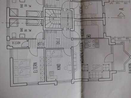 Vollständig renovierte 3-Raum-Wohnung mit Balkon in Kreuztal