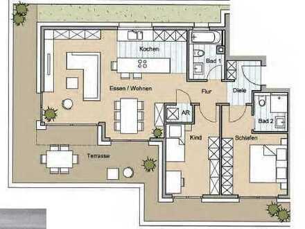 Südpunkt ! *NEUBAU* 3-Zimmer-Wohnung in der Annastraße 3 zu verkaufen