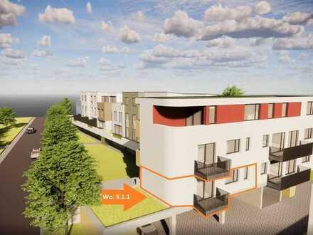 Komfortable 2-Zimmer-Wohnung mit Balkon in Richtung Osten