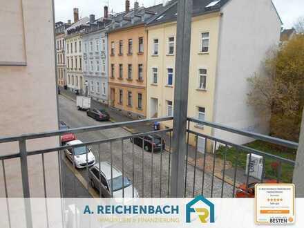 Zu verkaufen! Bezugsfreie 4-Raum Eigentumswohnung mit Stellplatz in Plauen ab mtl. 229,23 EUR Rate!