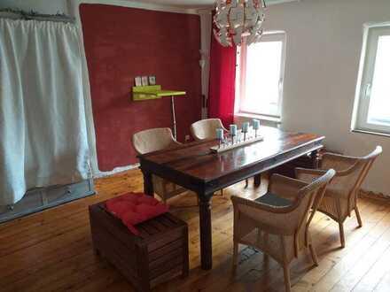 """Im Haus des Lebens """"ein Ort der Ruhe"""" Maisonette Zimmer mit Garten am FLuss"""