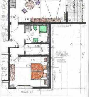 Top renovierte 2 Zimmer - Einliegerwohnung