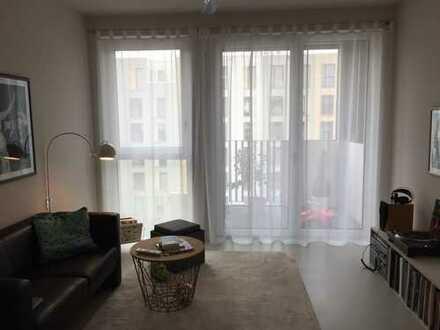 Stilvolle 3-Zimmer-Maisonette-Wohnung mit Balkon und EBK in Heidelberg Bahnstadt