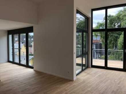Loft Konzept: Offenes Wohnen mit luftigem Wohnraum