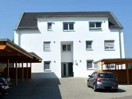 2-Zimmer, neuwertige Terassenwohnung mit Einbauküche und Carport in Ofterdingen