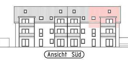 3 Zi-Dachgeschosswohnung mit großer überdachter Loggia und ausgebautem Dachstudio