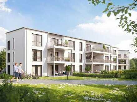 Stein – Wohnen mit hohem Freizeitwert! Perfekte 2-Zimmer-Erdgeschosswohnung in schöner Lage