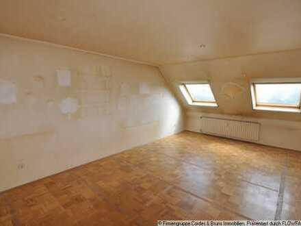 Wohnung für Handwerker im DG