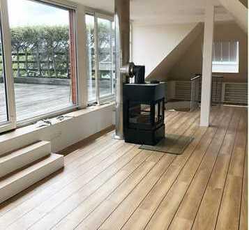 TOP-Maisonettewohnung mit Loggia & Dachterrasse in guter Lage von Korschenbroich-Glehn