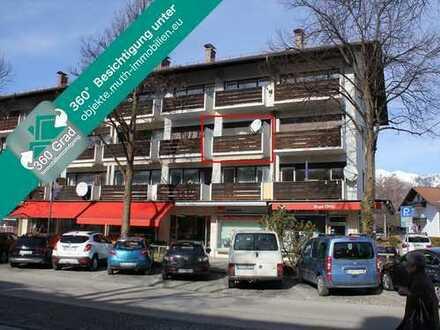 KAPITALANLAGE – vermietetes 1-Zi. Appartement, sehr zentrale Lage mit Einzelgarage in der Tiefgarage