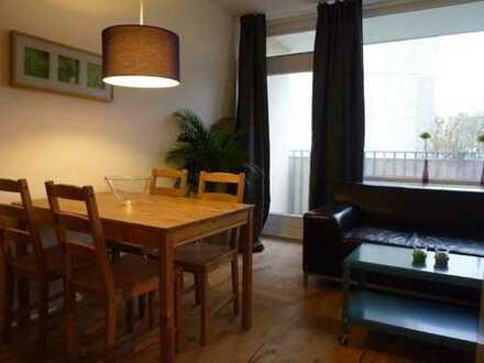 Gute Kapitalanlage: 37,4 qm Wohnung mit Balkon und EBK in Hoheluft-West, nahe UKE, ohne Courtage