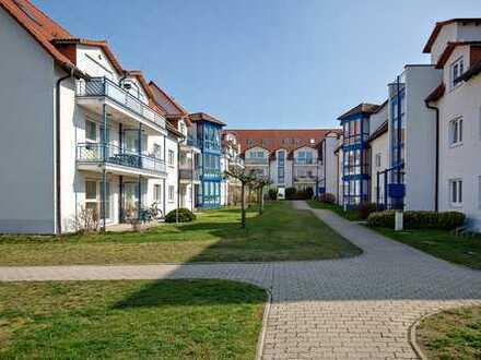 Lichtdurchflutete 3 Zimmer Wohnung in idyllischer Lage am Leipziger Stadtrand