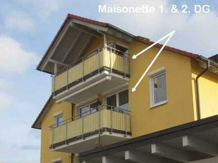"""Komfort! 3 Bäder, 2 Balkone, 2 EBK & Carport - DG-Mais. & DG WHG ca.92 & 32m² in Rudersberg"""
