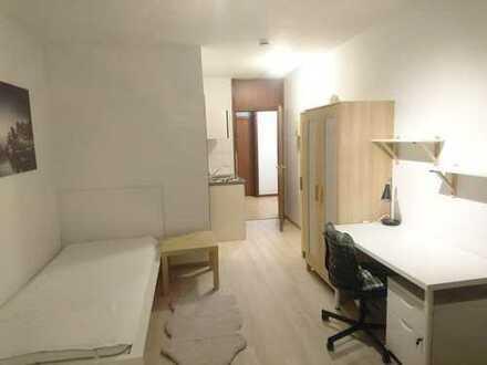 Erstbezug nach Sanierung: Frisch möblierte 1-Zimmer-Wohnung