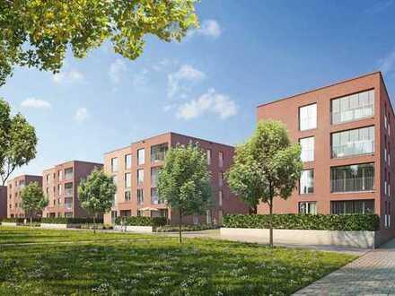 Großzügige 2-Zimmer-Wohnung mit Wohlfühl-Terrasse in einem der begehrtesten Stadtbezirke Münchens