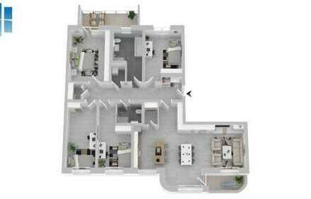 5 Raum Wohnung in der Oase Zentrum Leipzigs -  Graphisches Viertel