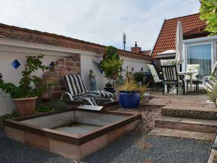 Haus-im-Haus- 216m² große 4,5 Zi.-Wohnung mit Dachterrasse und Aufzug in Kirrlach!