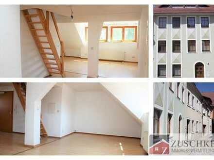 Großzügige 3- Raum-Dachgeschosswohnung mitten in der Altstadt von Bautzen