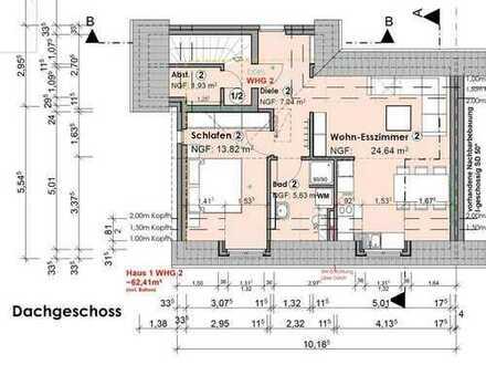 DG-Neubau-Eigentumswohnung am Pröbstingsee