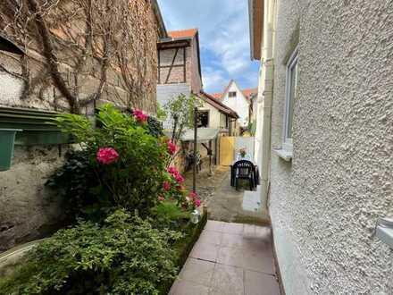 Sanierungsbedürftiges Einfamilienhaus im Altstadtkern von Obernburg