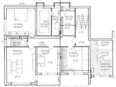 3-ZKB-Wohnung mit Terrasse in Korlingen