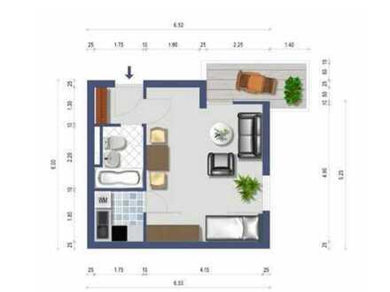 Vermietete 1 Zimmer Wohnung // Kapitalanlage