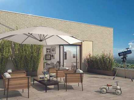 Wohnen in zentraler Lage von Hürth: Hochwertige 4-Zimmer-Neubauwohnung mit 2 Terrassen!