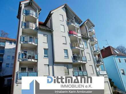 Möbliertes 1-Zi Appartement mit Balkon Nähe Fachhochschule