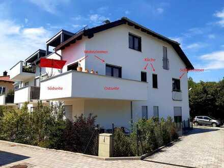 Neuwertige, helle 2-Zimmer-Wohnung mit Balkon und EBK in Zorneding