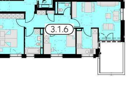 TOP-Lage. Schöne 3 Zimmer Wohnung, mit Balkon & 2 Parkplätzen