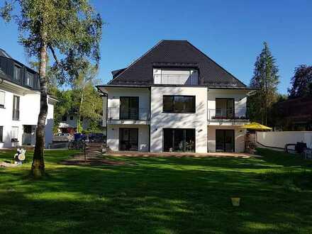 RIVA Wohnen mit Parksicht, 4 Zi + Galerie, über 150 m² Wfl, Neubau, München-Waldtrudering