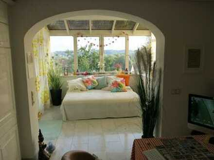 Luxus Wohnung mit Sonnen-Terrasse und Blick auf das Ampertal in Haag an der Amper
