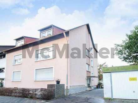 Zuverlässig profitieren: Modernes und gepflegtes DG-Apartment mit Balkon in Neckarau