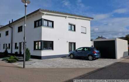 Schicke Doppelhaushälfte im Neubaugebiet Neuthard