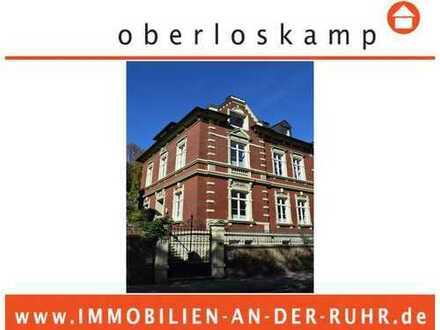 Wohnen in einer historische Stadtvilla mit modernem Innenleben direkt an der Ruhr!