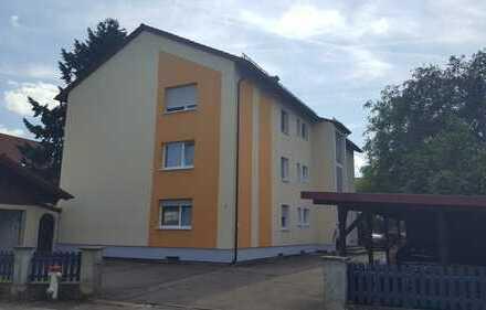 Lichtdurchflutete 4-Zimmer-Erdgeschosswohnung m. Garten in Fellheim
