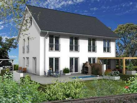 Doppelhaushälfte in Mahlsdorf mit 150 qm Wohn/Nutzfläche.