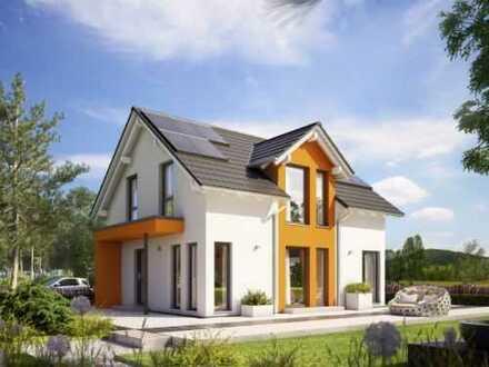 Plusenergiehaus mit Keller auf Baulücke in Hohenberg *Gelegenheit*
