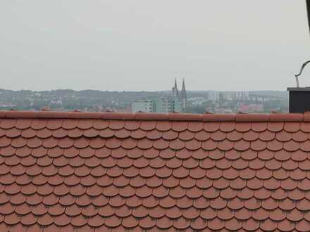 DHH im Regensburger Norden mit Domblick