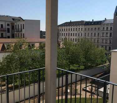 Nähe Gewandhaus und Roßplatz: 3-Zi. Neubau: Zweitbezug mit super Ausstattung