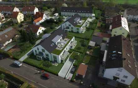 """NEUBAUPROJEKT: """"JUNGES WOHNEN""""  MFH 1: Gartenwohnung Nr. 2 3-Zimmer mit Terrasse im Erdgeschoss"""