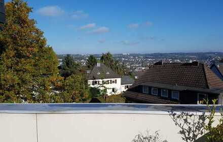Möblierte 3-Zimmer-Penthouse-Wohnung nähe Toelleturm im Süden Wuppertals