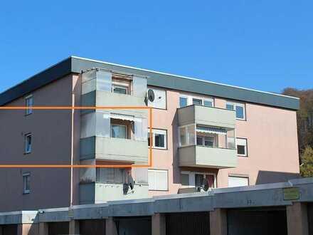 Kauf statt Miete - naturnahe und ruhig gelegene 3-Zimmer-Wohnung mit Balkon in Ortsrandlage!