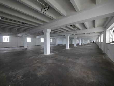 Große Lager-/Produktionshalle von ca. 500 m² bis ca. 2500 m²