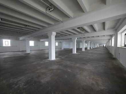 Große Lager-/Produktionshalle von ca. 640 m² bis ca. 2500 m²
