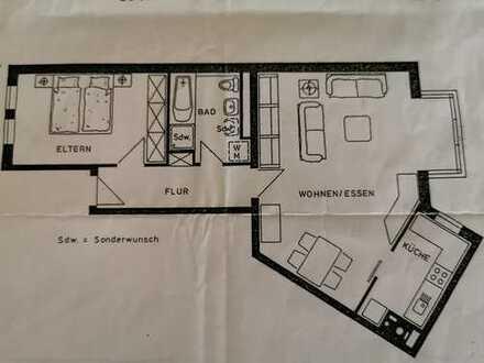 Vollständig renovierte 2-Zimmer-Wohnung mit EBK in Schweinfurt