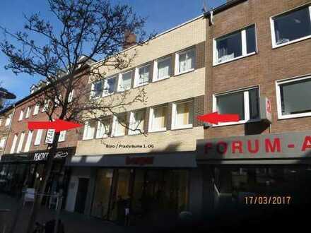 ## Büro-/ Praxis-/ Schulungsräume in der Innenstadt von Bocholt ##