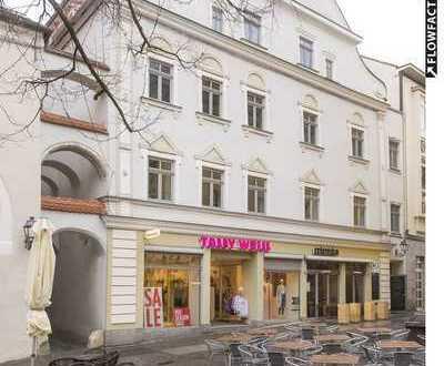 Wohn- und Geschäftshaus und Einfamilienhaus am Amberger Marktplatz