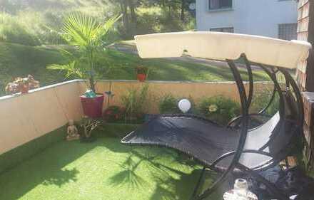 Großzügige, exklusive 2-Zi-Wohnung mit Terrasse zu vermieten